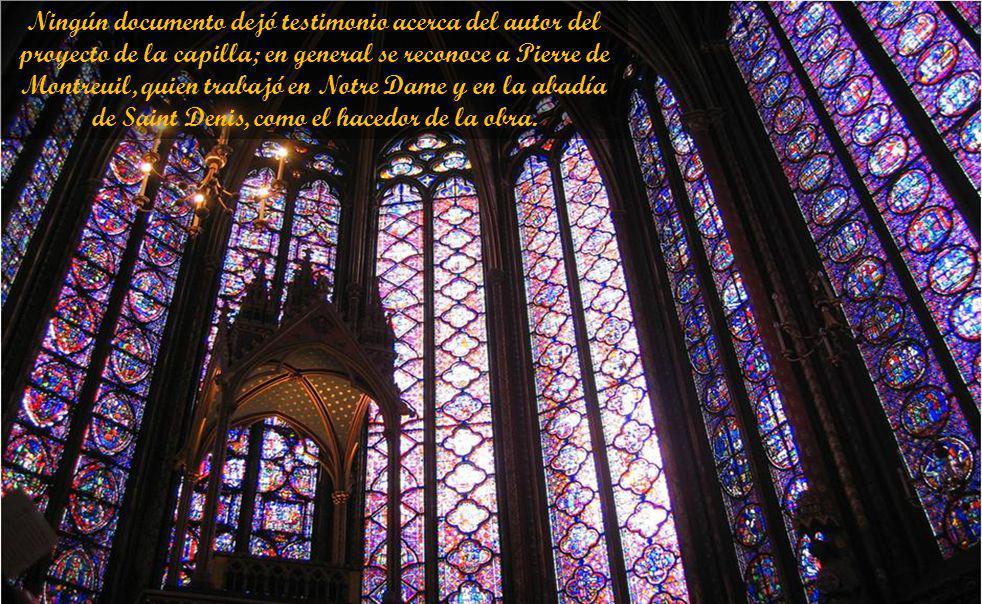 A pesar de su exterior pequeño y humilde por encima de los edificios de Palacio de Justicia, Sainte-Chapelle es uno de los puntos altos de la arquitectura francesa de estilo gótico.