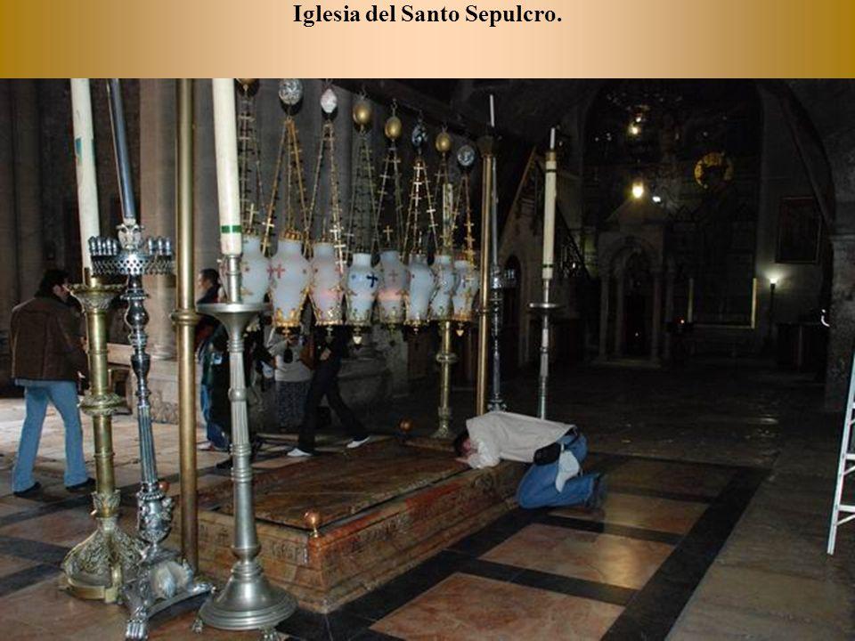 Pintura del Gólgota, el lugar de la ejecución de Jesús.
