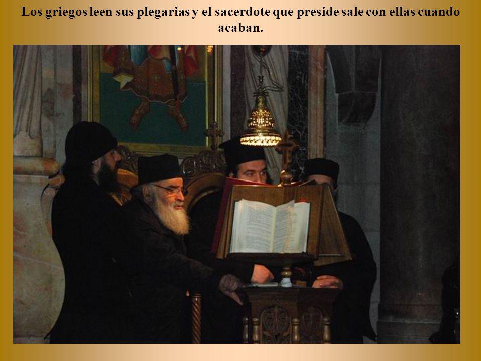 Capilla del rito ortodoxo en la iglesia del Santo Sepulcro.
