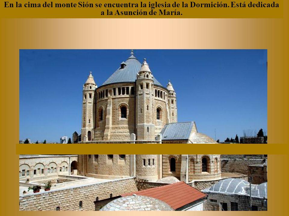 La Iglesia de la Agonía, llamada iglesia de todas las naciones.