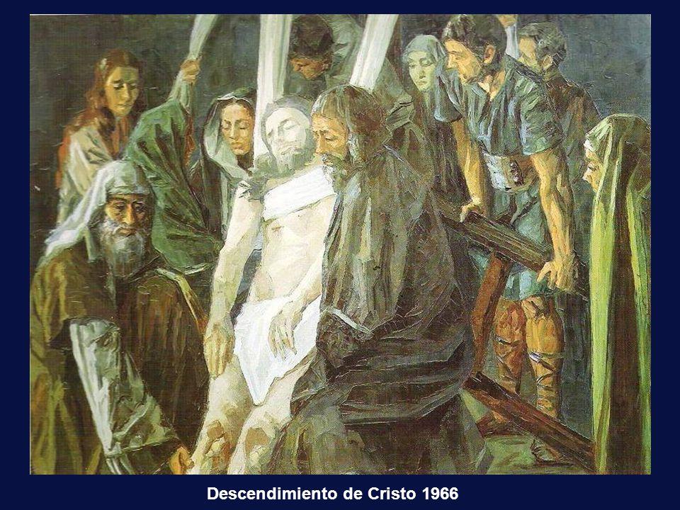 Con su padre 24 h. antes de ingresar en el convento Isabel con Velazquez. Cuadro suyo.