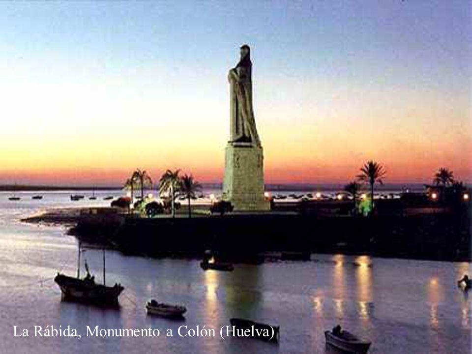 La Rábida, Monumento a Colón (Huelva)