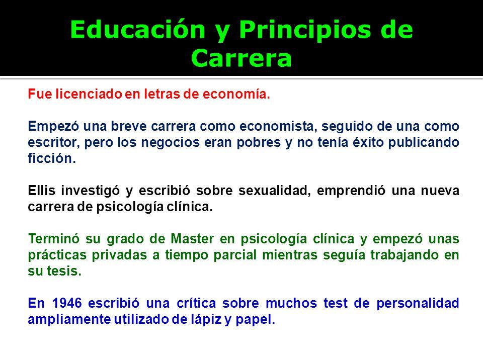 Educación y Principios de Carrera Fue licenciado en letras de economía. Empezó una breve carrera como economista, seguido de una como escritor, pero l