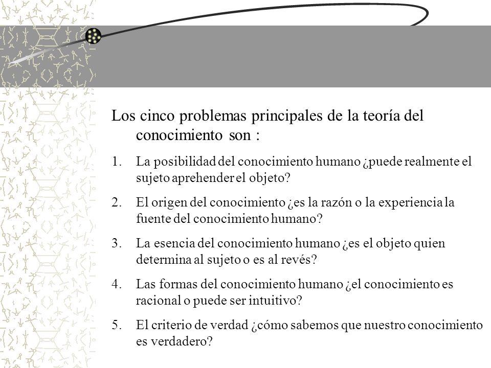 5.El Criterio de la Verdad EL CONCEPTO DE VERDAD.
