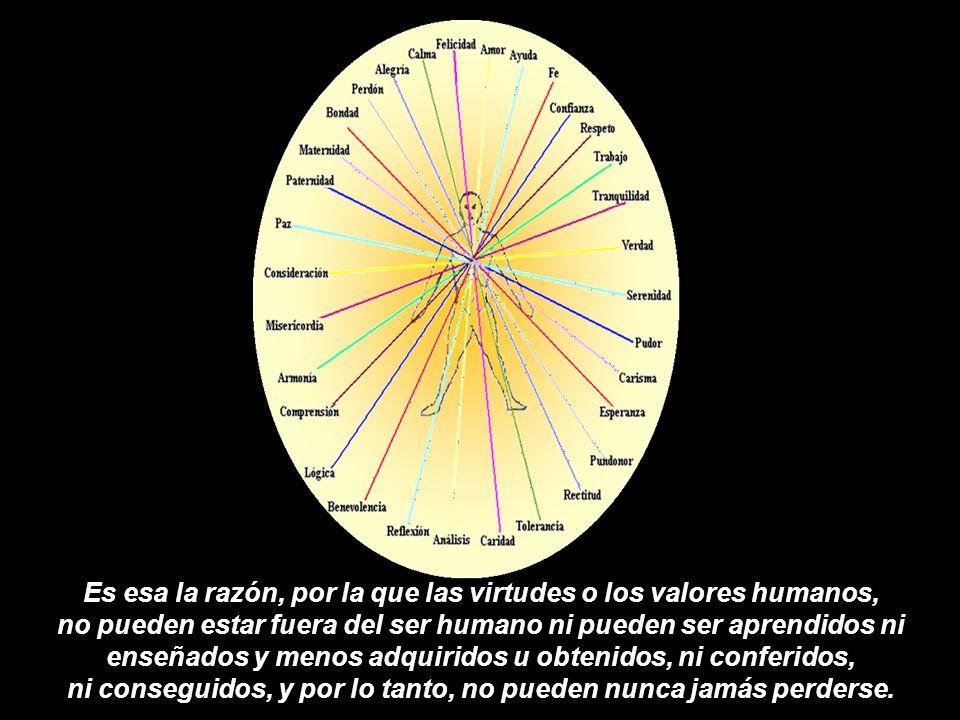 Ese nombre individual asignado: amor, paz, felicidad, igualdad, … es una descripción temporal de esas combinaciones energéticas, en la que cada una de