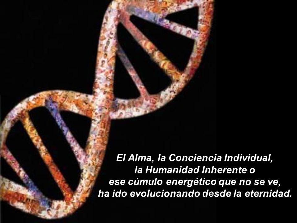 El Alma, la Conciencia Individual, la Humanidad Inherente o ese cúmulo energético que no se ve, ha ido evolucionando desde la eternidad.