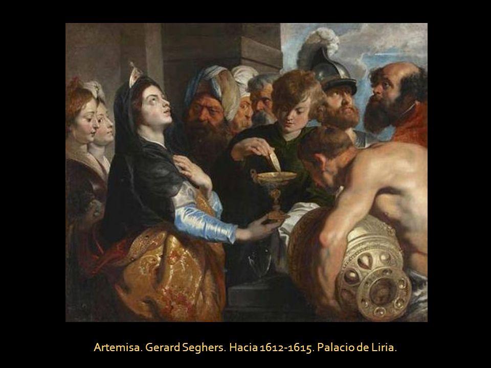 La última Cena, Tiziano Vecello. Hacia 1550-1555.