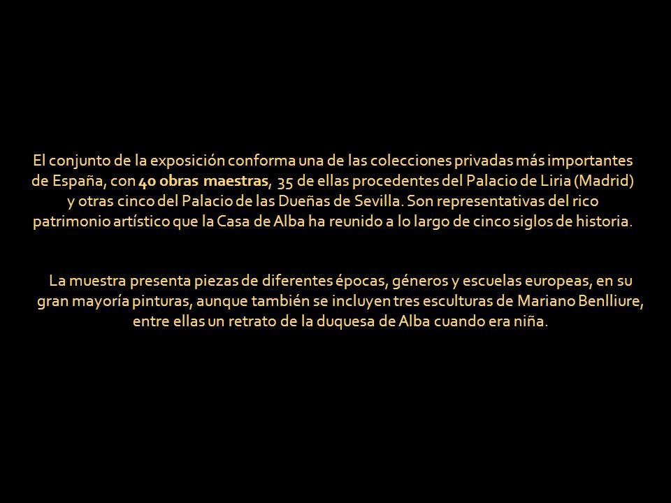 COLECCIÓN CASA DE ALBA MUSEO DE BELLAS ARTES SEVILLA EXPOSICIÓN