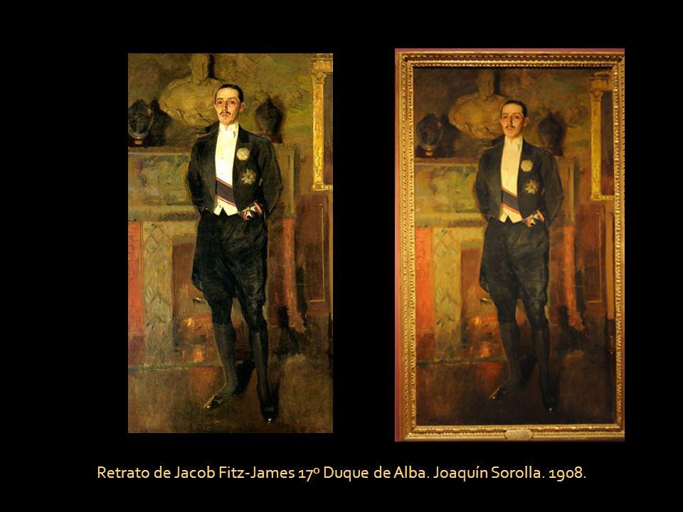 Jacobo Fitz-James Stuart y Falcó, 17º duque de Alba. Mariano Benlliure. 1918.