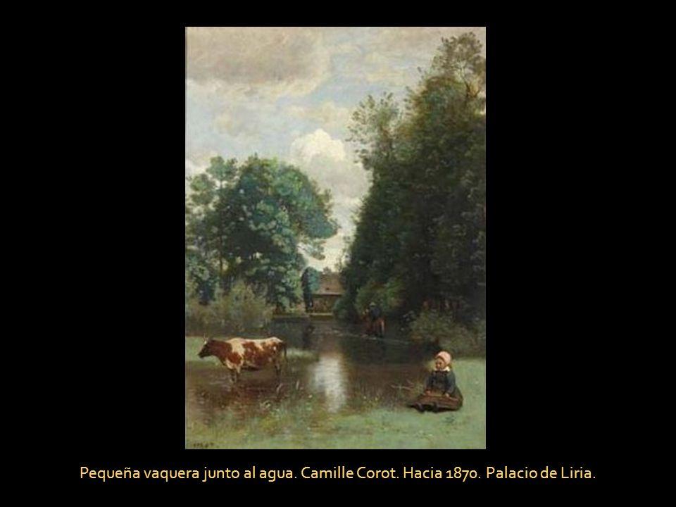 Paisaje con bosque y valle. J. Van de Goyen. Hacia 1630. Palacio de Liria.