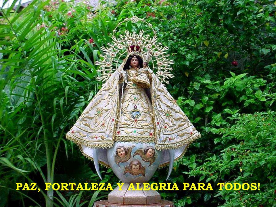 PAZ, FORTALEZA Y ALEGRIA PARA TODOS!