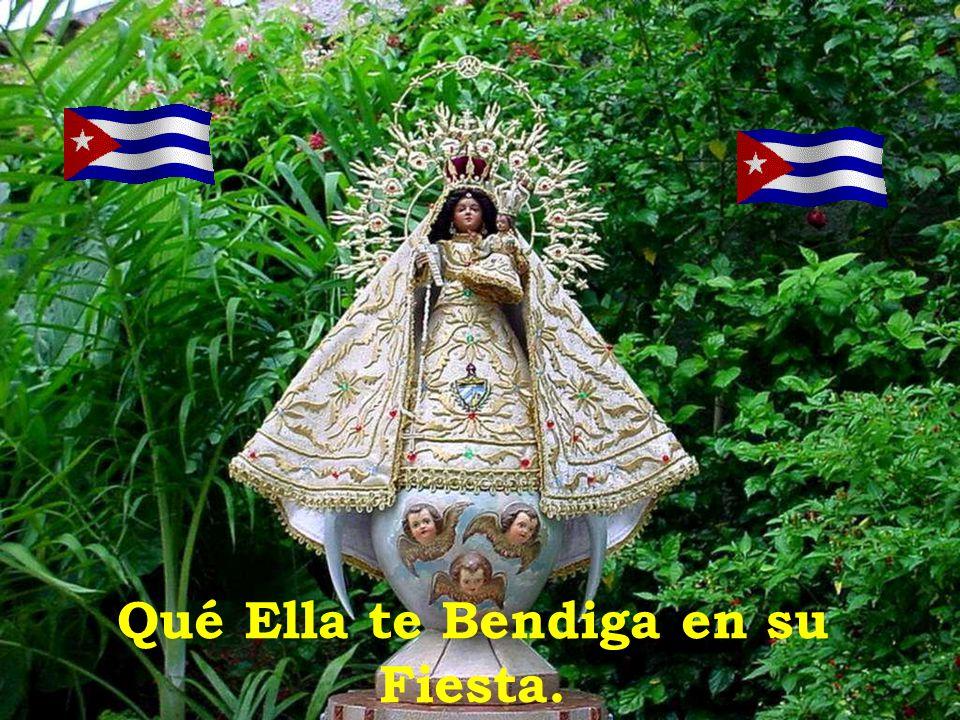 Acabas de recibir la visita de la Virgen de la Caridad del Cobre Patrona de Cuba