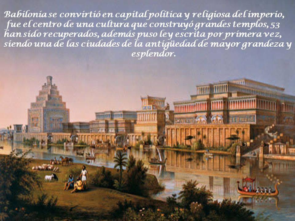 Alegoría de la esclavitud de los judíos en Babilonia.