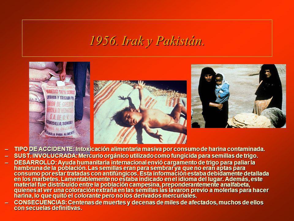 1956.Irak y Pakistán.