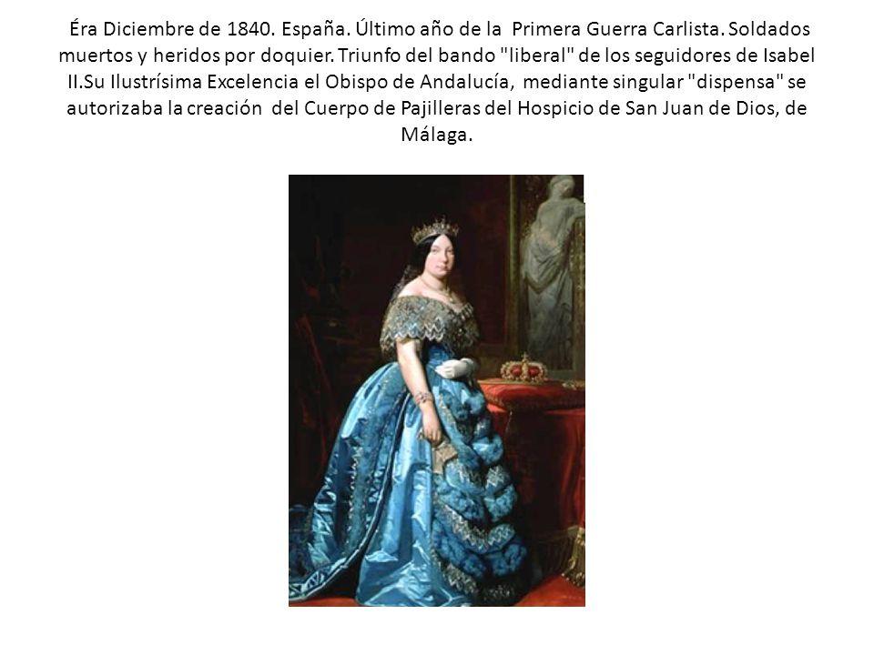 Éra Diciembre de 1840. España. Último año de la Primera Guerra Carlista. Soldados muertos y heridos por doquier. Triunfo del bando