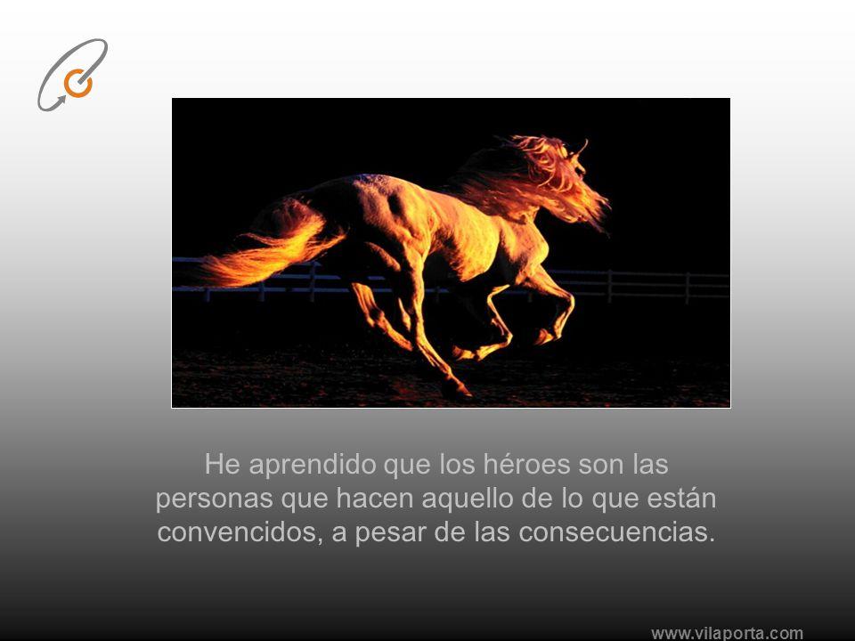 www.vilaporta.com He aprendido que si no controlo mis actitudes ellas me controlan a mi.
