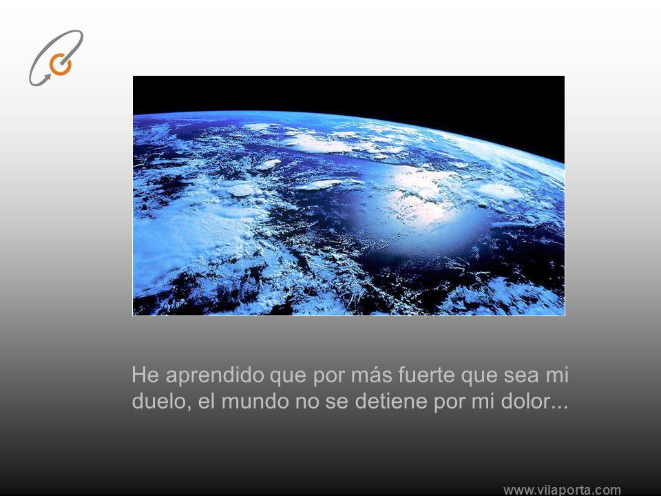 www.vilaporta.com He aprendido que el verdadero amor y la verdadera amistad, continúan creciendo a pesar de las distancias...