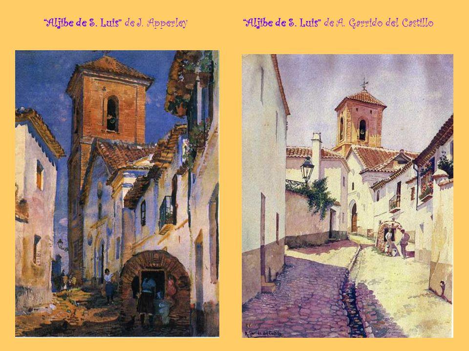 Viático en el Albayzín de Isidoro Marín Calle albaicinera de M. Sánchez Morales