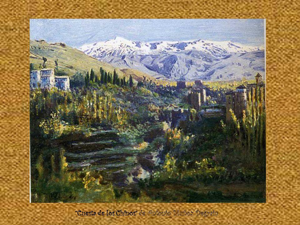 Sala de las Camas de Francisco Muros Sala de la Alhambra de Francisco Muros