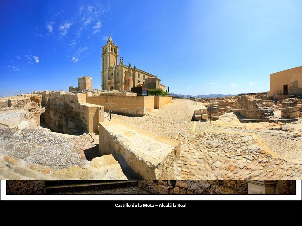 Castillo de Vélez Blanco - Vista lateral del castillo