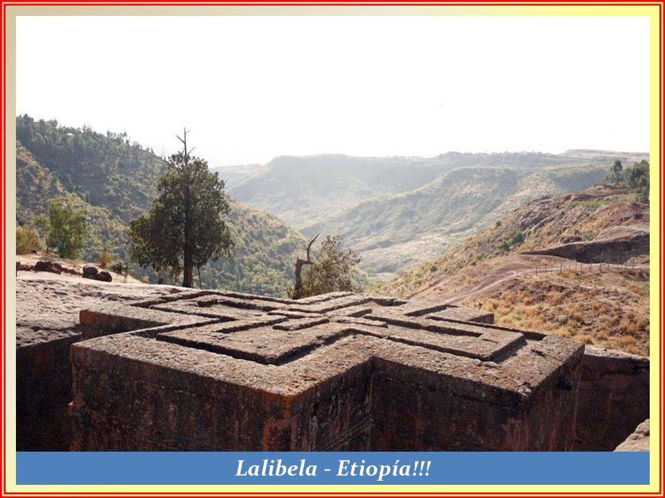 El cristianismo llegó a Etiopía en el siglo IV y hoy sobrevive en su forma ortodoxa.