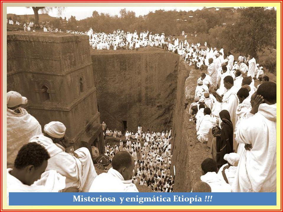 Misteriosa y enigmática Etiopía !!!