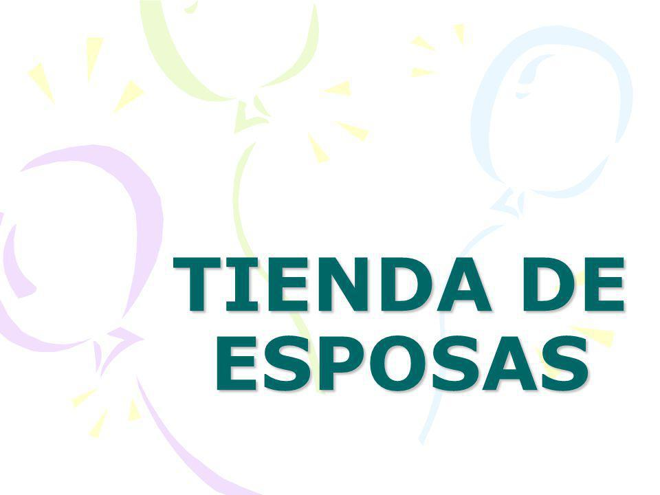 TIENDA DE ESPOSAS
