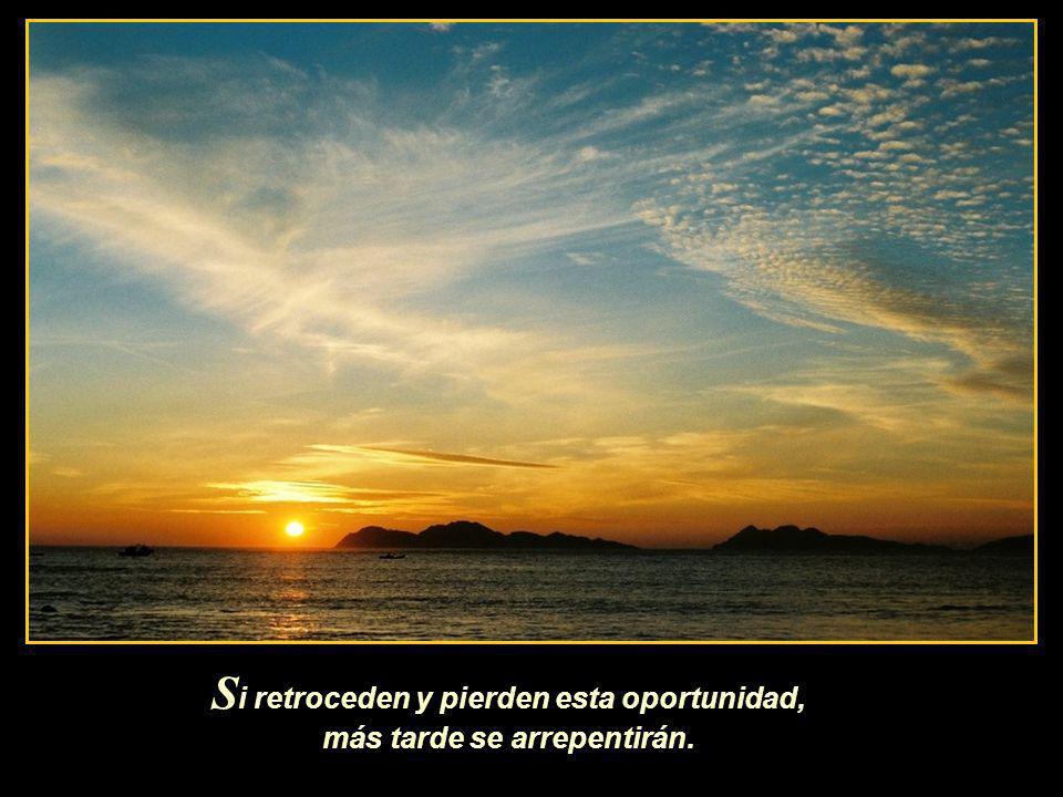S erán tiempos sagrados, jamás vividos por la humanidad, serán días para regocijarse ante el Amor de Dios.