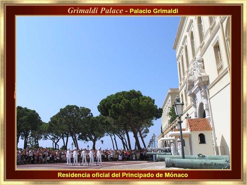 Principality of Monaco Los Grimaldi, una familia de exiliados de origen genovés, el 8 de diciembre 1297 se unió a la fortaleza de Mónaco - por entonce
