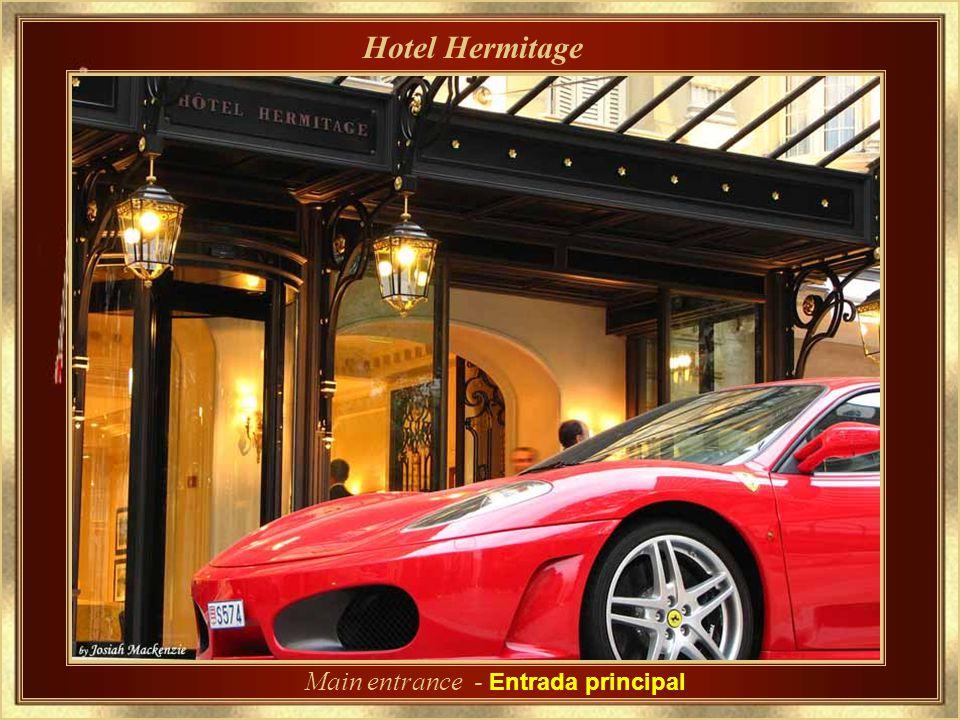 Hotel Hermitage Uno de los más tradicionales y refinado hoteles de Mónaco.