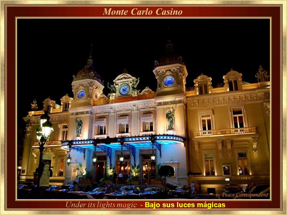Monte Carlo Casino – Detalles de su arquitectura Diseñada por Charles Garnier, el arquitecto que proyectó también la Ópera de París