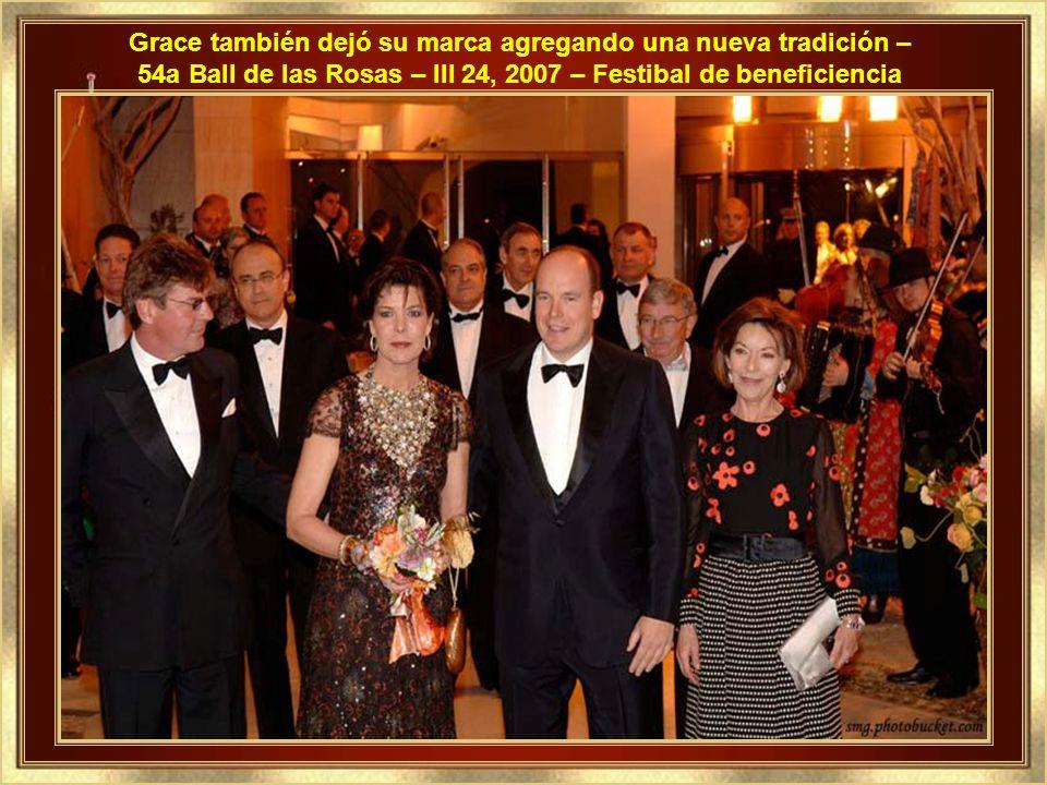 Los hijos en la actualidad.... El hijo, actual Príncipe Soberano del Principado como Alberto II, y Princesas