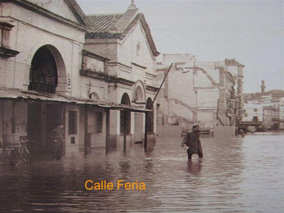 Calle Oriente algunas Fotos de la riada de 1961
