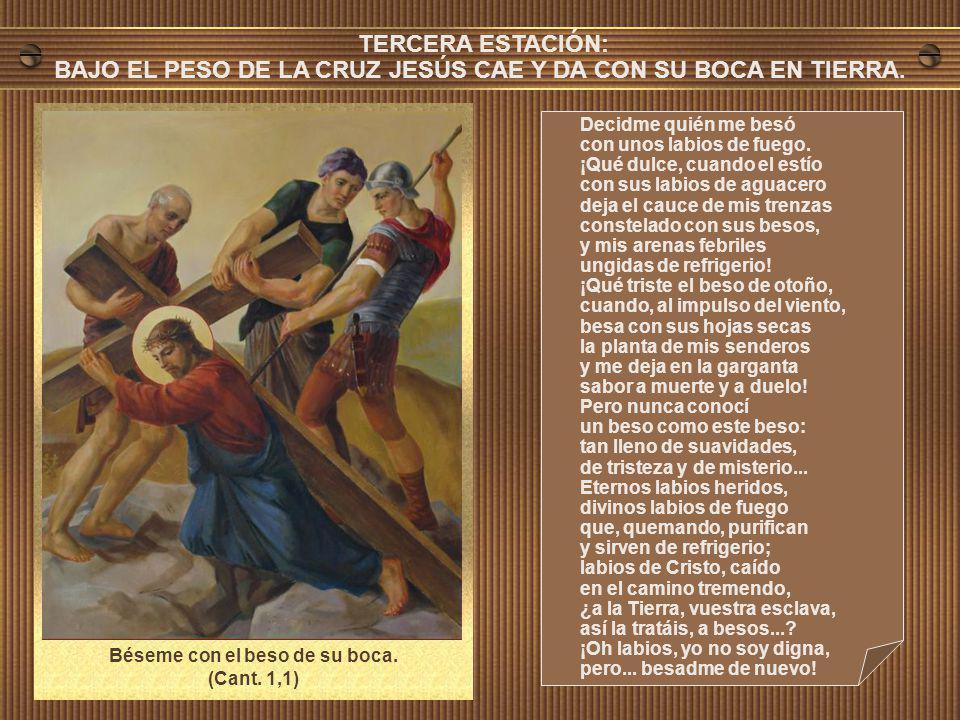 Niña que llevas al pecho siete puñales clavados, Madre que vas a sembrar a Dios bajo los granados: ya vienen los sembradores, con la semilla, llorando; ya traen el cuerpo de Cristo blanco sobre el lino blanco.