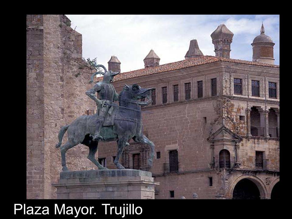 Plaza Mayor. Trujillo