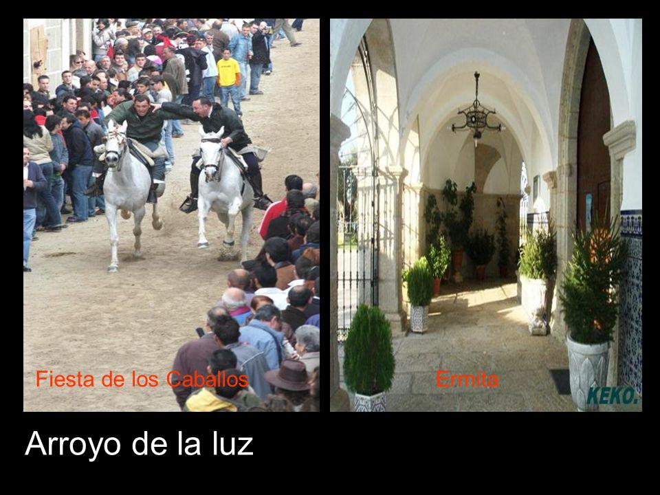 Arroyo de la luz Fiesta de los CaballosErmita