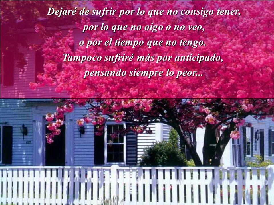 A partir del próximo amanecer voy a agradecer a Dios por todos los días,por darme fuerza para vivir,a pesar de mis problemas.
