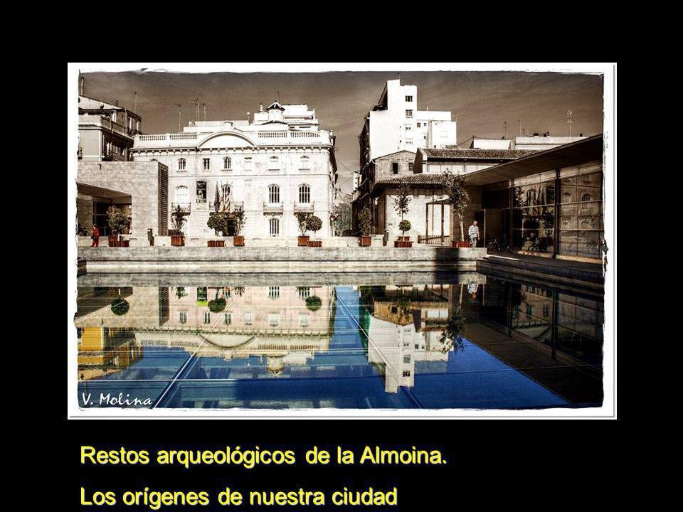 Restos arqueológicos de la Almoina. Los orígenes de nuestra ciudad