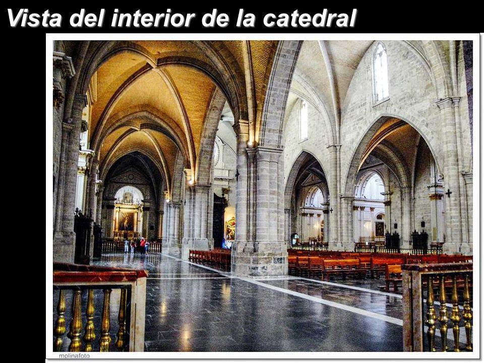 Vista del interior de la catedral