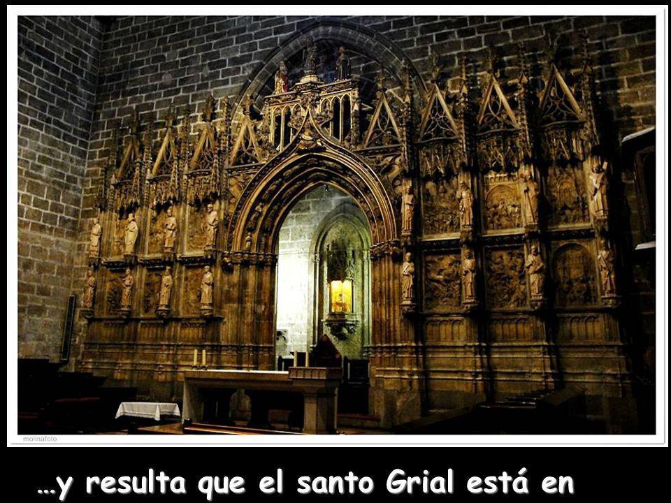 …y resulta que el santo Grial está en Valencia !