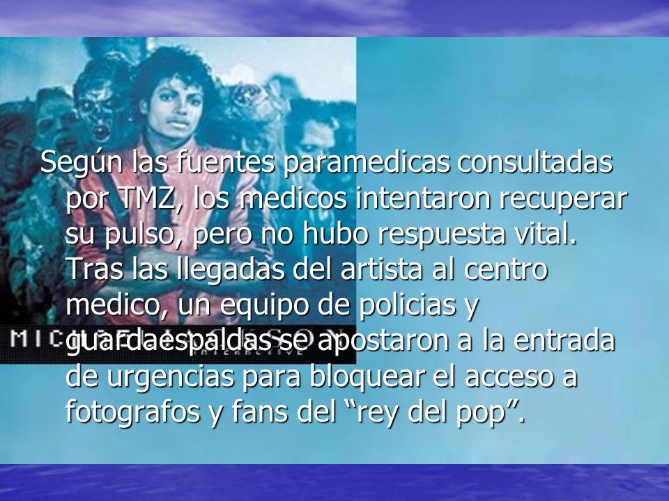 Los familiares del artista fueron avisados de urgencia y rapidamente acudieron al hospital ante la gravedad del estado de salud del cantante.
