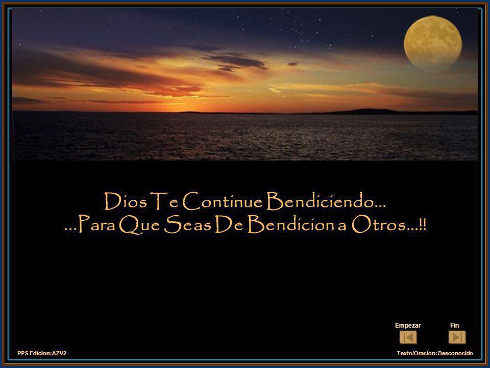 PPS Edicion:AZV2Texto/Oracion: Desconocido Dános siempre días felices, y enséñanos a repartir felicidad. Amen