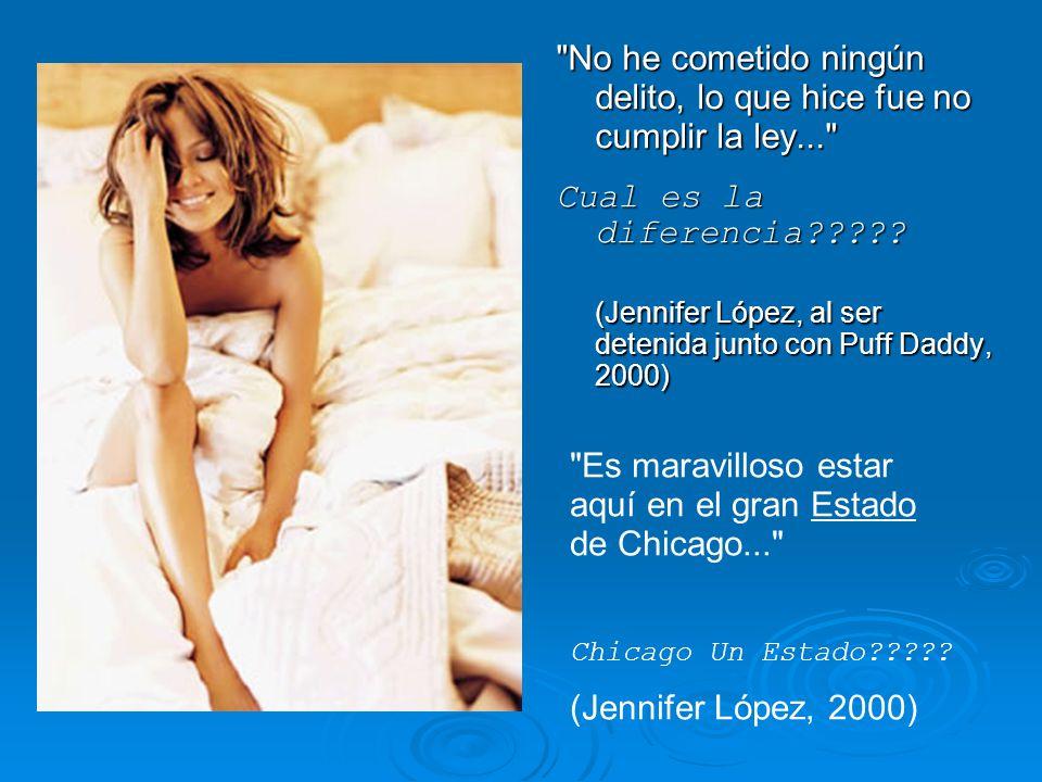Un periodista, a Carolina Zúñiga, candidata a Miss Chile 2000: Pregunta: Si hubiese un holocausto nuclear, ¿qué pareja elegiría usted en todo el Mundo (hombre y mujer) para preservar y multiplicar la especie humana.
