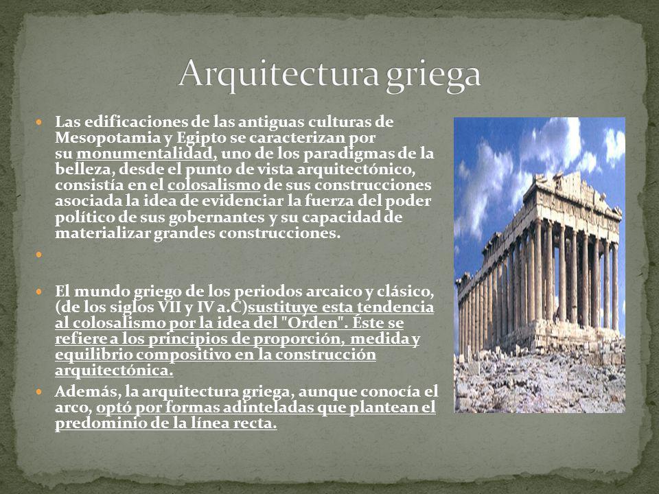 Si bien es cierto, que hoy en día nos seducen los blancos mármoles de los templos griegos, resplandecientes por la luz solar, en su época estaban enriquecidos mediante efectos cromáticos.