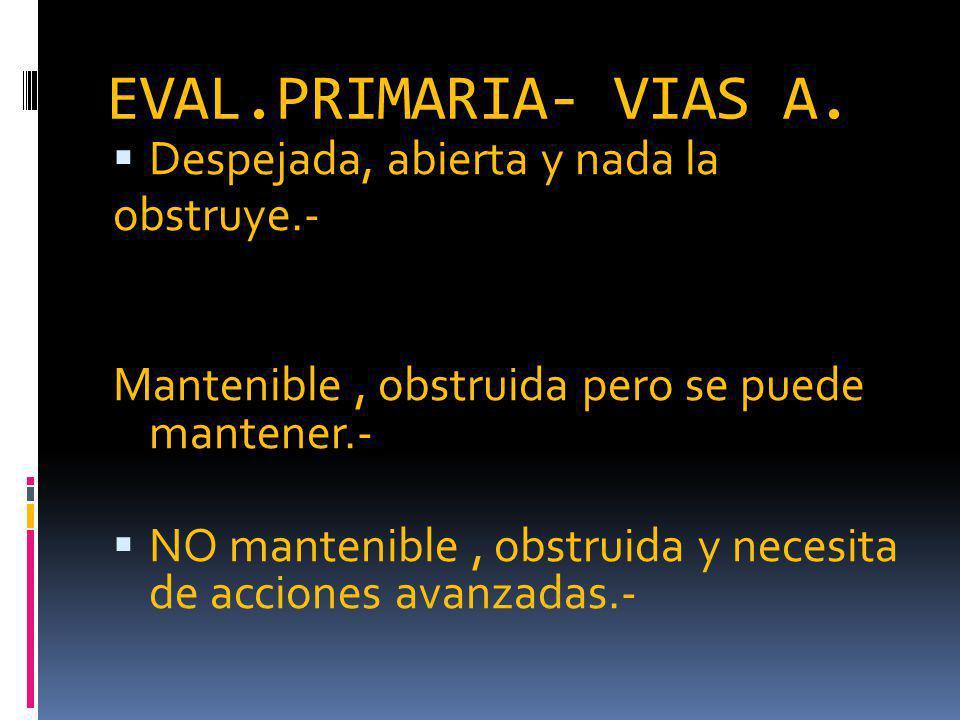 EVAL.PRIMARIA- VIAS A.