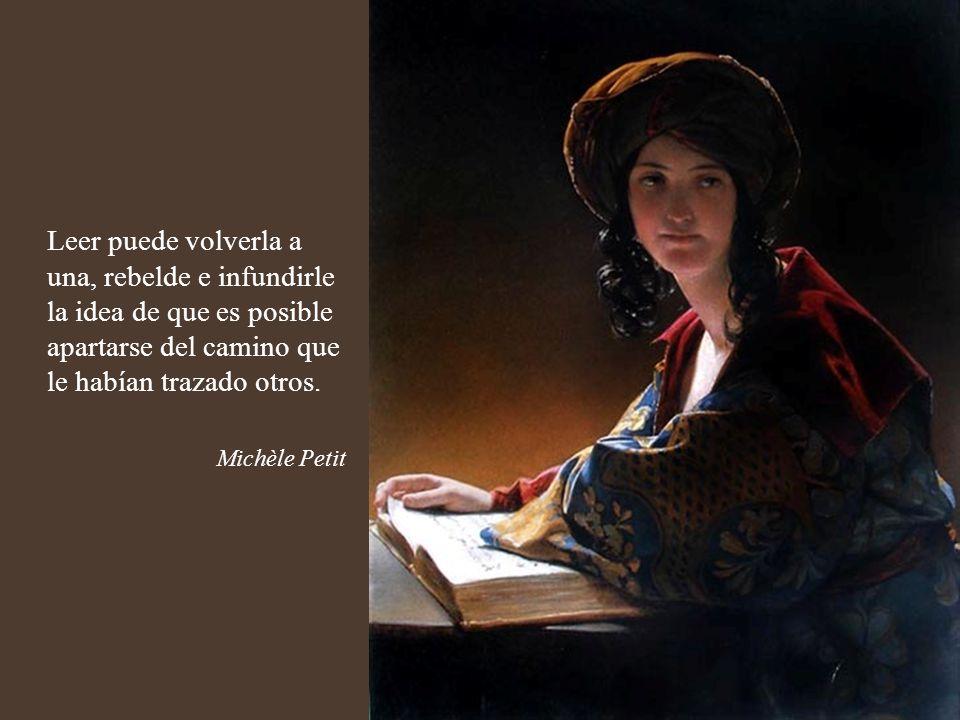 La lectura es el orden de la oscuridad de la noche, incluso cuando se lee en pleno día al exterior, la noche se instala alrededor del libro. Marguerit