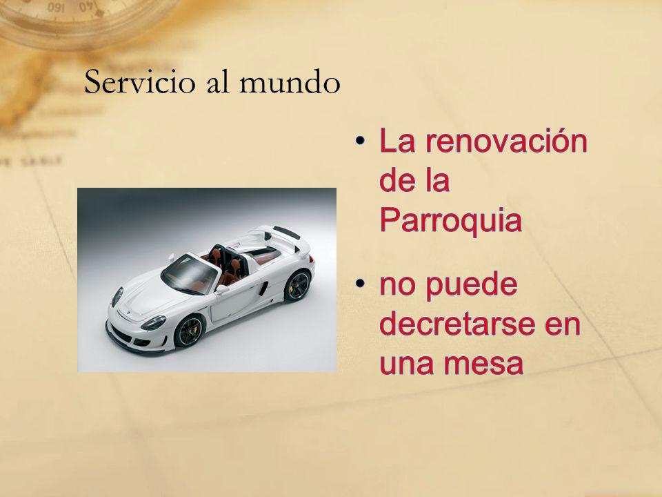 Servicio al mundo