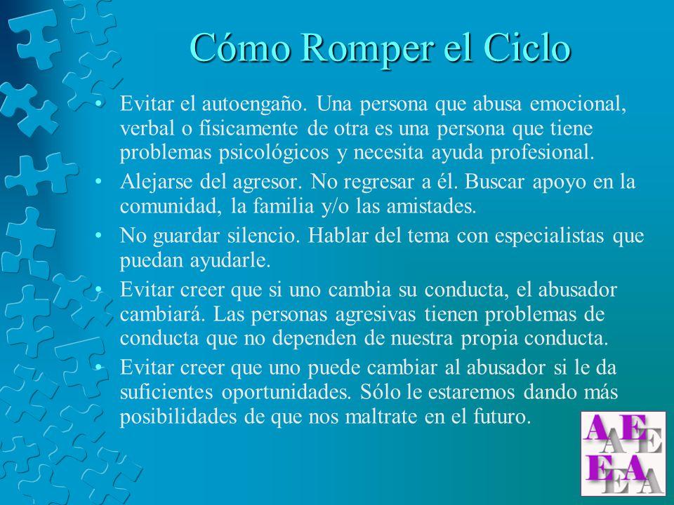 www.abusoemocional.com info@abusoemocional.com www.abusoemocional.com info@abusoemocional.com El Ciclo del Abuso Traducido de: Domestic Violence Information Depot http://www.angelfire.com/ms/domviol/cycle.html