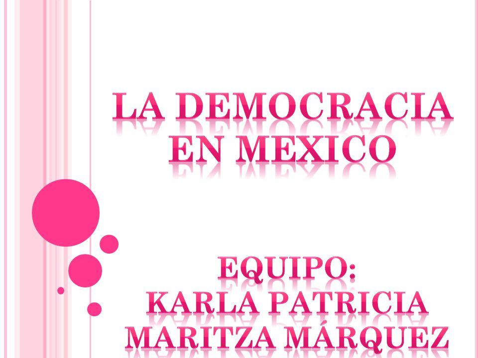 La democracia, es el aquel sistema de gobierno, en el cual la soberanía del poder reside y está sustentada, en pueblo.