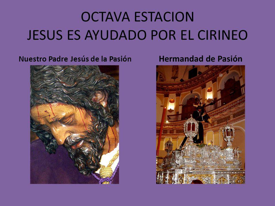 SEPTIMA ESTACION JESUS CARGA CON LA CRUZ Nuestro Padre Jesús de la Salud Hermandad de los Gitanos